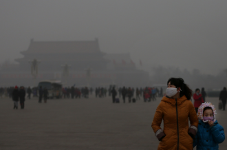 China air pollution April 23, 2013
