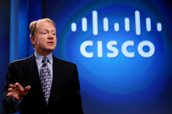 Cisco CEO john chambers August 13 2013