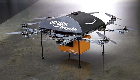 Amazon PrimeAir drone delivery 02 December 2013