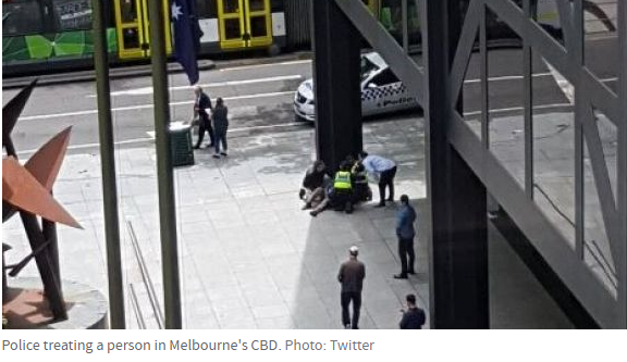 Australia: 1 dead as auto plows into crowd in Melbourne