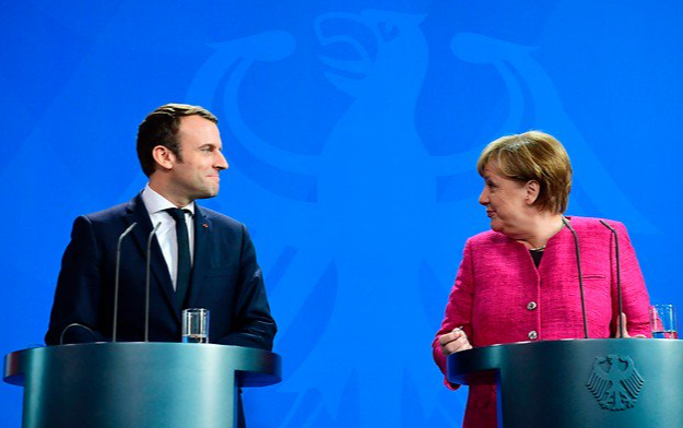 'Merkron' alliance between Germany, France to revive troubled EU