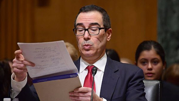 US Treasury Secretary Mnuchin: 2% economic growth we're seeing isn't