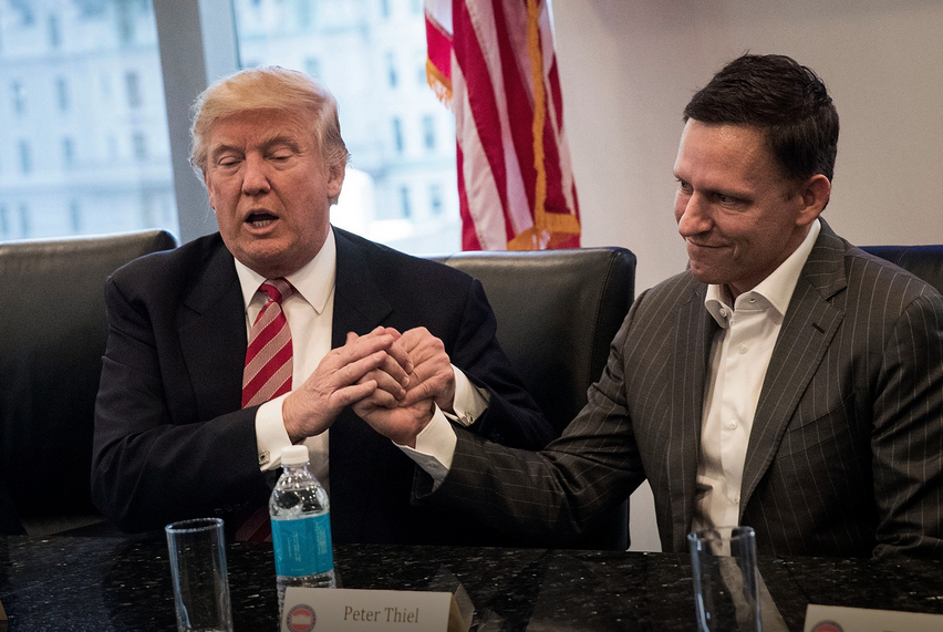 Peter Thiel's firm holds hundreds of millions in bitcoin