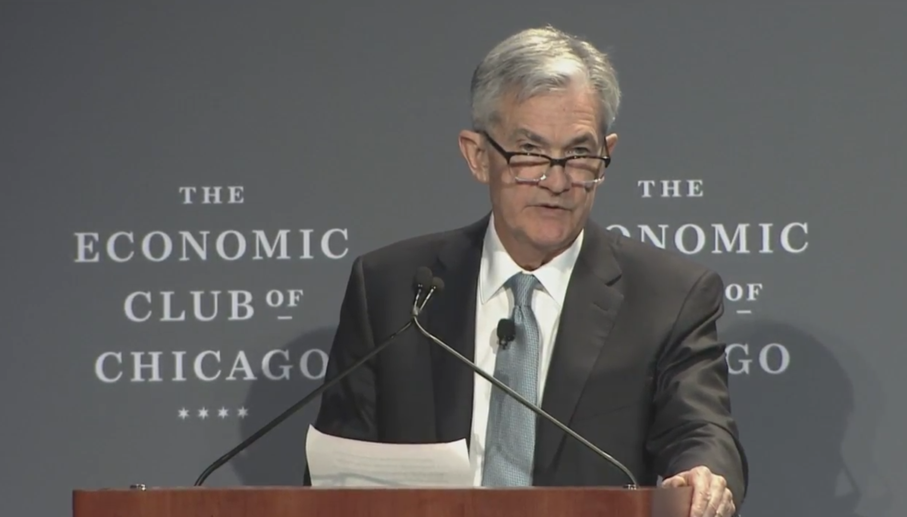 Federal Reserve Chair Powell says gradual rate hikes is the best approach