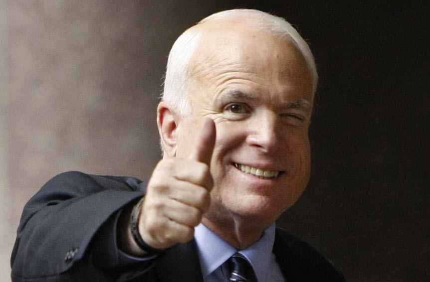 Senator John McCain dies after battle with brain cancer