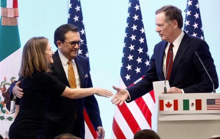 US, Mexico ready to sign new NAFTA without Canada