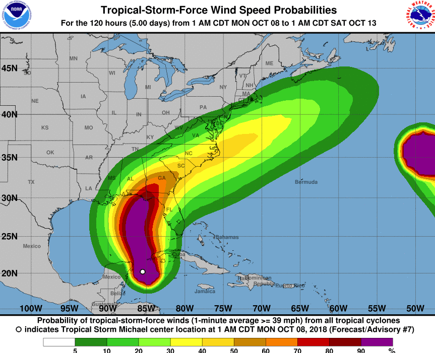 Tracking Hurricane Michael; It's Potential Impact in the Triad