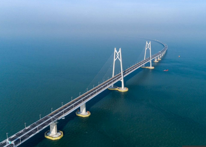 Mega bridge connecting Hong Kong, Macau and China to open on Tuesday