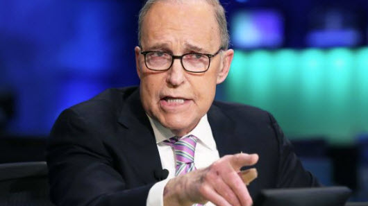 White House economic adviser Larry Kudlow