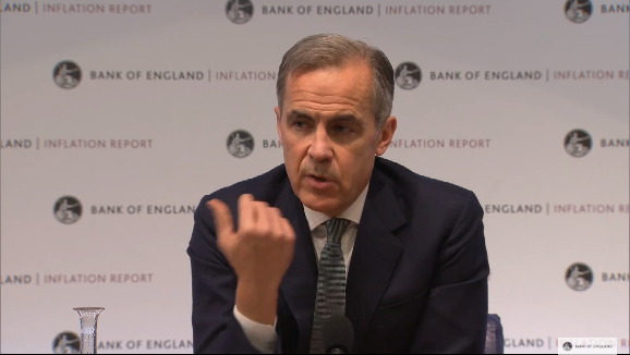Bank of England DOWNGRADES UK growth to lowest level since financial crash