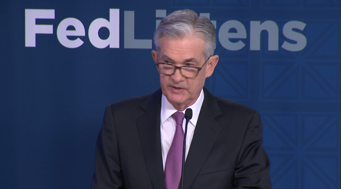 Powell Indicates Fed May Cut Rates If Trade War Heats Up