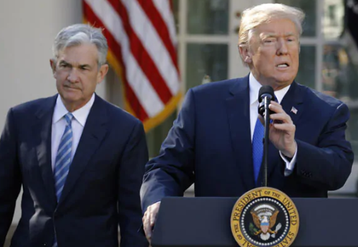 Trump criticizes US dollar's strength, blames the Fed