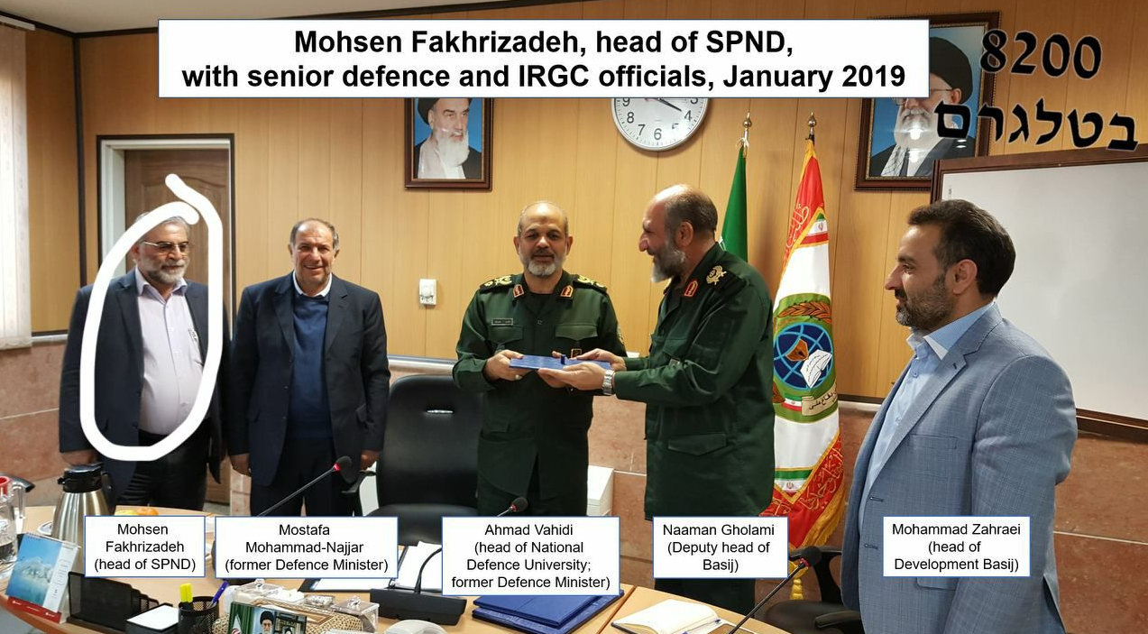 Top Iranian nuclear scientist killed - Iran defence ministry