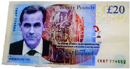 Carney banknote
