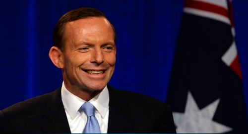 New Australian PM Tony Abbott