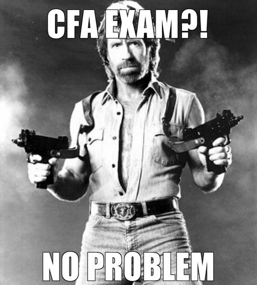 Good Luck To Anyone Taking The Cfa Exams On Saturday