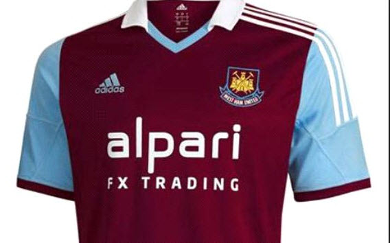 West Ham United - Oh noooo, not another berleedin' fx company on our shirts