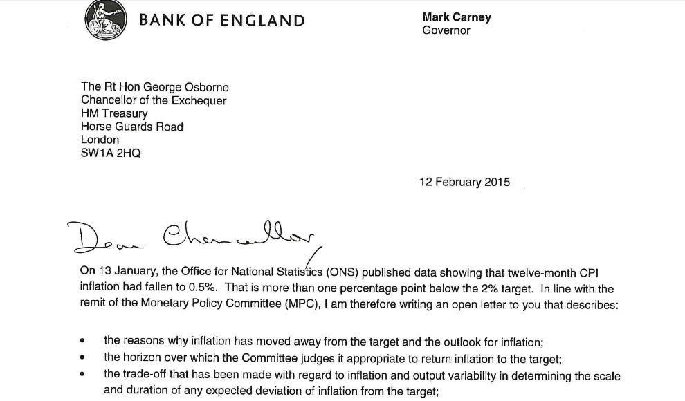Dear george a bit of a story on inflation sincerely yours mark given the fact that the boes cpi target has been mashed lately it means that carney had to write a letter to uk fin min george osborne to explain why spiritdancerdesigns Choice Image
