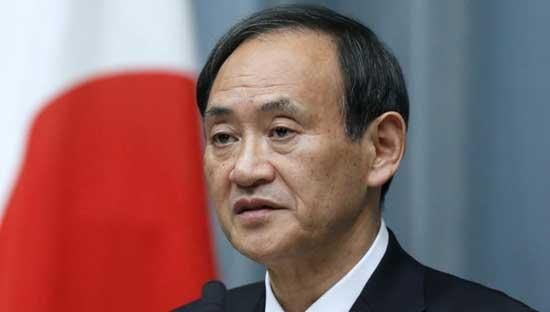 Japan's chief cabinet secretary Suga is the favourite to become the next Prime Minister.