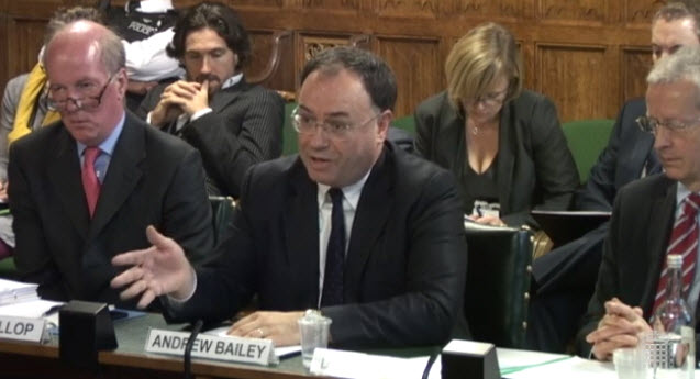 BoE Governor Andrew Bailey spoke on Monday UK time.