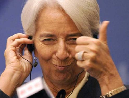An International Monetary Fund staff report, says: