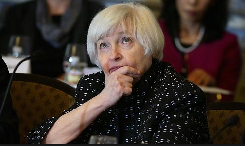 Former Federal Reserve Chair Janet Yellen spoke overnight in Chicago