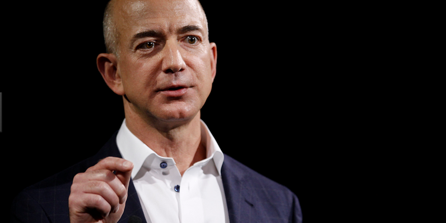 Reuters with the report on stock sales by Amazon head and founder Jeff Bezos.
