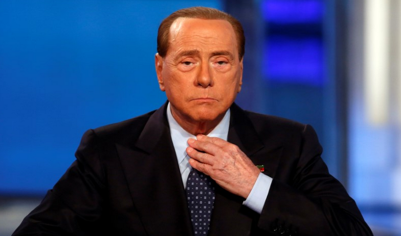 Berlusconi and two sons test positive
