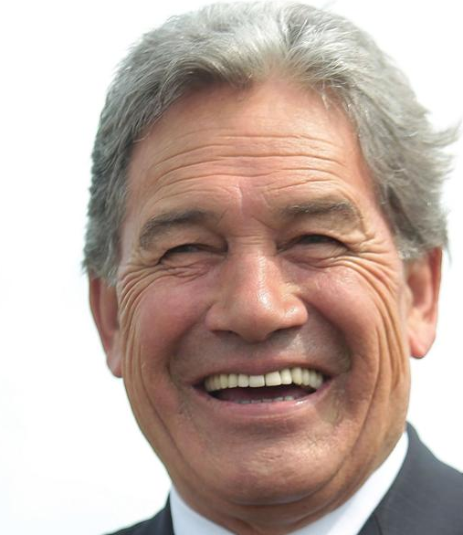 New Zealand press with the report on comments from Deputy Prime Minister Winston Peters
