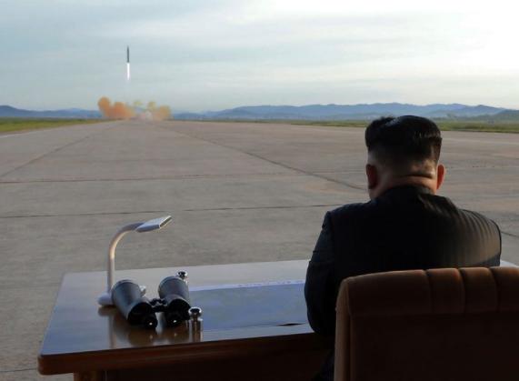 kim missile North Korea