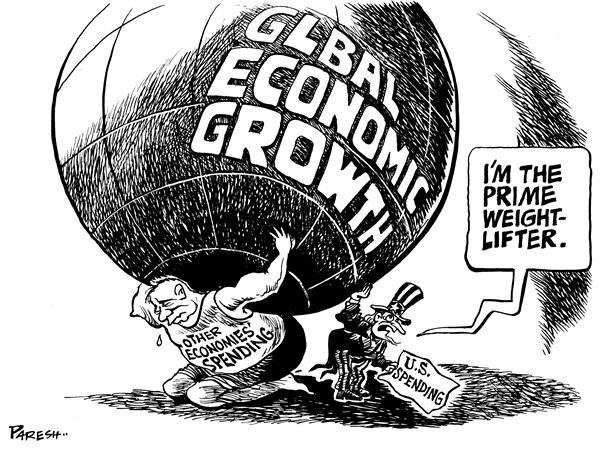 an analysis of significant imbalance of growth of global economy Global imbalances: links to economic and financial stability  a significant portion of these capital inflows reflected a broader phenomenon that,  these capital flows reflect in part the continued two-speed nature of the global recovery, as economic growth in the emerging markets is far outstripping growth in the advanced economies 5.