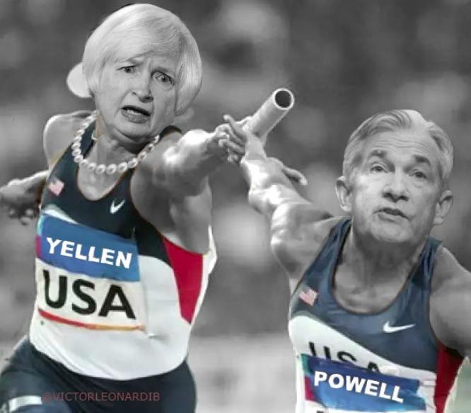 yellen to powell