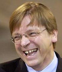 Guy Verhofstadt, Belgian politician and a Member of the European Parliament