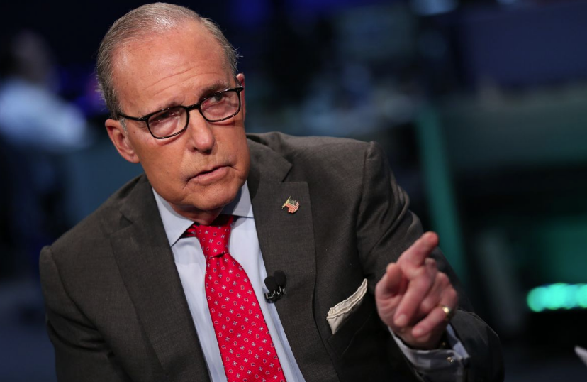 Larry Kudlow, director of the U.S. National Economic Council, spoke before heading into further negotiations: