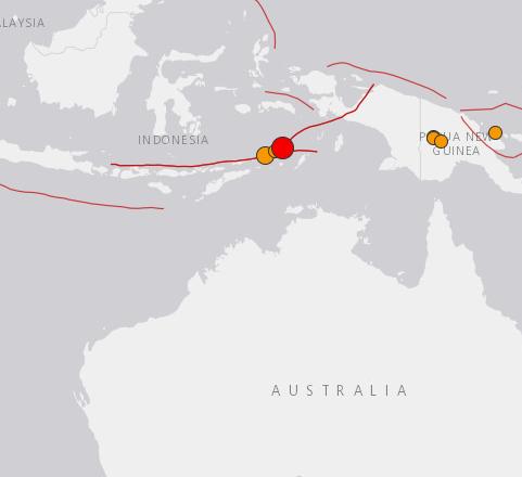 Powerful quake strikes off eastern Indonesia, no tsunami alert issued