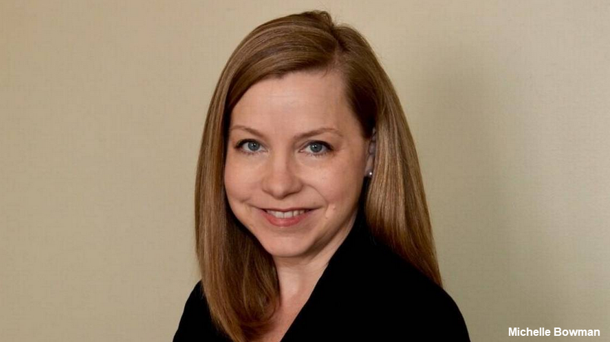 MichelleBowman is a Governor of the Fed Board and thus a permanent voting member on the Federal Open Market Committee.