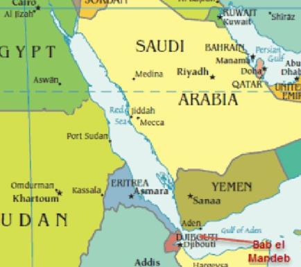 Oil -Saudi to temporarily halt exports through Bab-el-Mandeb