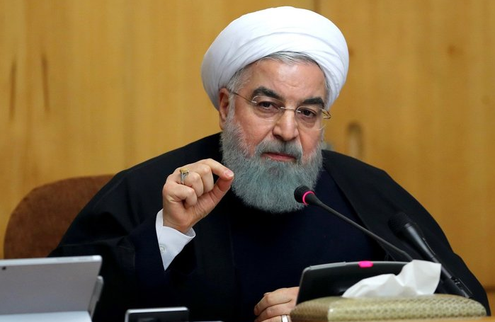 Iran's President makes the announcement