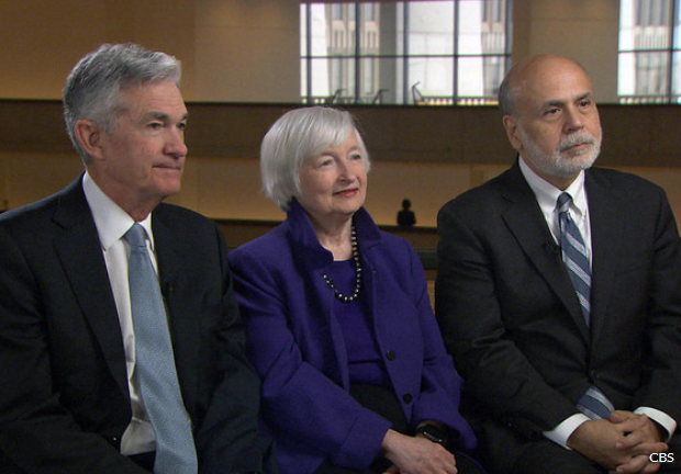 Federal Reserve Chairman Jerome Powell appeared on the US TV show '60 Minutes' on Sunday