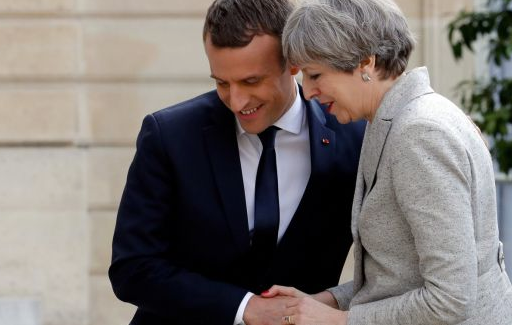 Theresa May to meet Merkel and Macron in push for Brexit extension