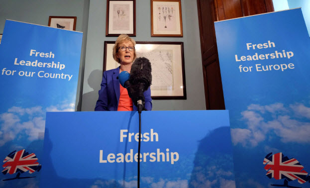 Leadsom is the Leader of the House of Commons