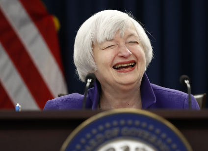 Janet Yellen is the new US Treasury Secretary, the first woman to ever hold the job.