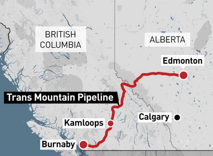 Government to decide on Trans Mountain Pipeline