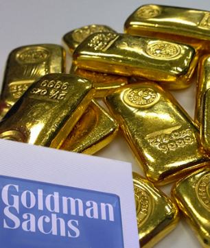 Gold priceprojections from Goldman Sachs: