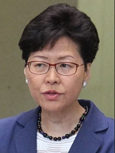 Carrie Lam is Hong Kong Chief Executive