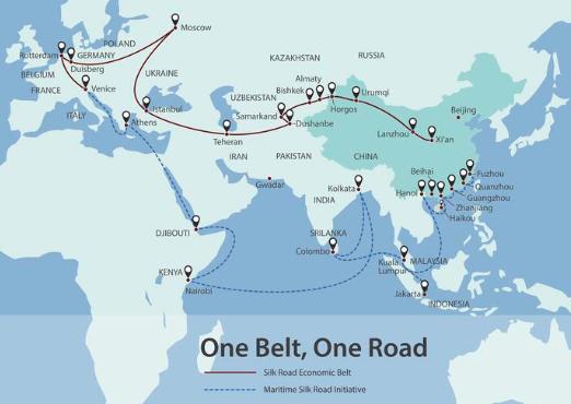 china belt road