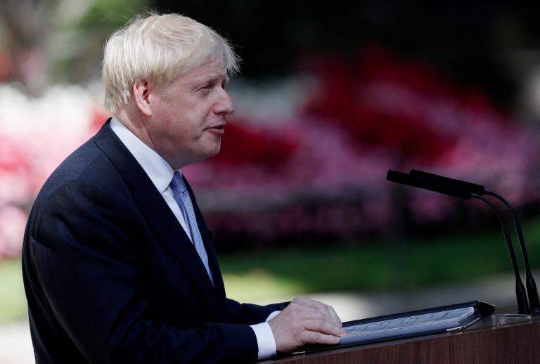 UK PM Boris Johnson 'new deal' coronavirus economy