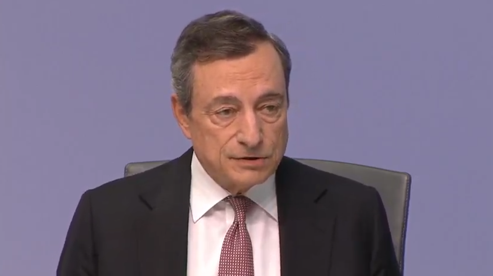 Draghi Q&A: Outlook is getting worse and worse