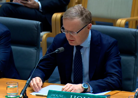 Reserve Bank of Australia governor Lowe speaking before the House of Representatives' Standing Committee on Economics from prepared text
