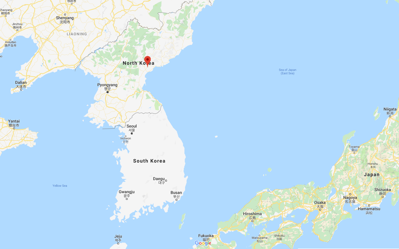 North Korea have fired off another round of ballistic missile tests Saturday morning NK time.